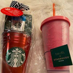 NWT Starbucks tumblers